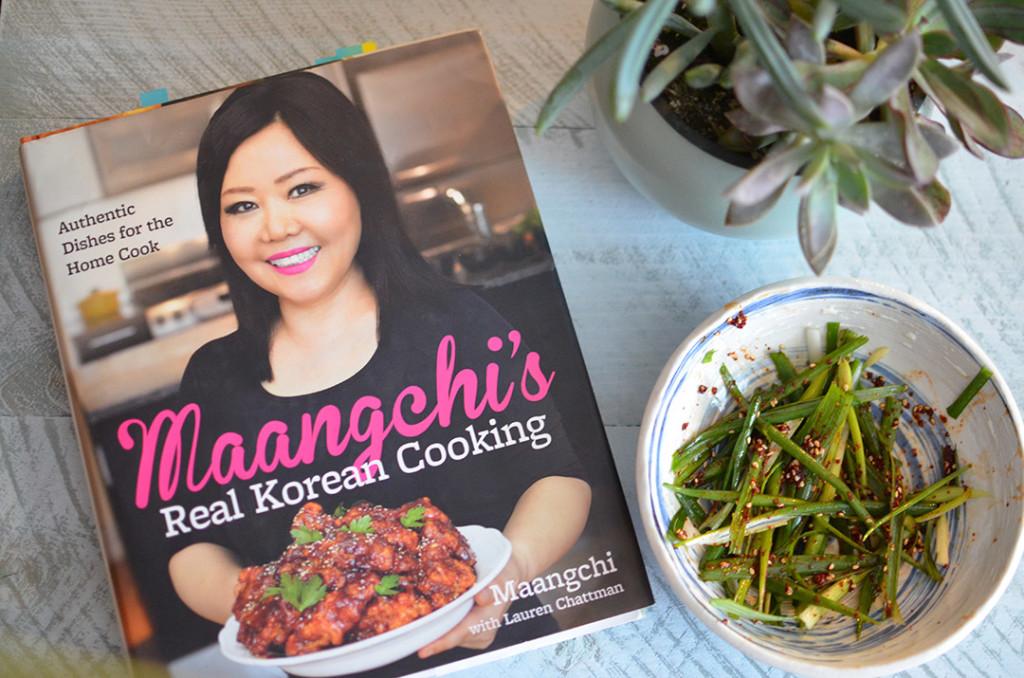 100 Days of Cookbooks: Scallion Salad (Pajeori)