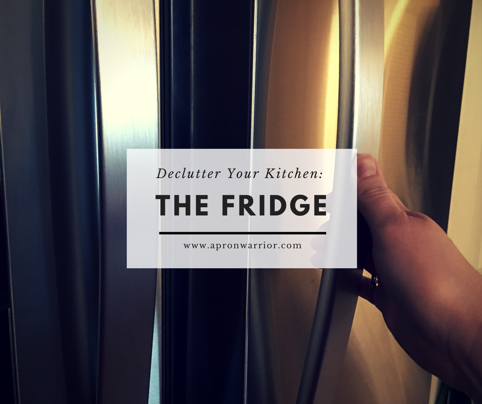 Declutter Your Kitchen: The Fridge
